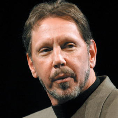 lARRY Ellison oracle400